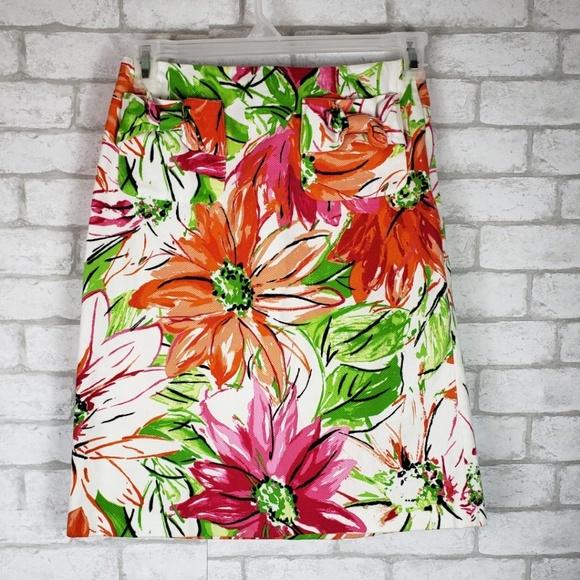 Grace Elements Dresses & Skirts - Grace Elements Black Label Floral Pencil Skirt 4
